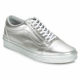 Vans  Old Skool  women's Shoes (Trainers) in Silver