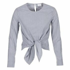 Vila  VIJUSTY  women's Blouse in Grey