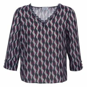 Casual Attitude  IDENOQO  women's Blouse in Blue
