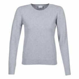 Vila  VISPONTANA  women's Sweater in Grey