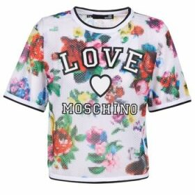 Love Moschino  W4G2801  women's Blouse in White