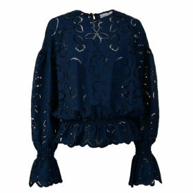 Perseverance London Lace Floral Blouse