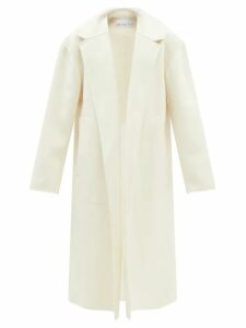 Raey - Displaced Sleeve Roll Neck Wool Sweater - Womens - Grey