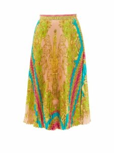 JW Anderson - Deep V-neck Linen Top - Womens - White
