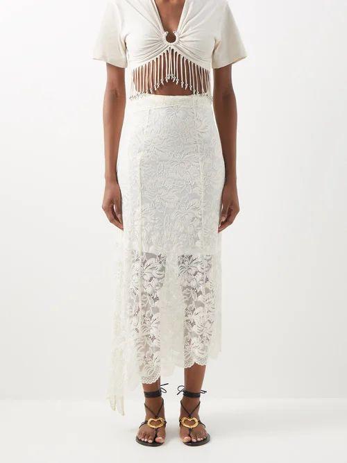 Genova single-breasted patch-pocket blazer