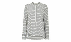 Stripe Cotton Jersey Shirt