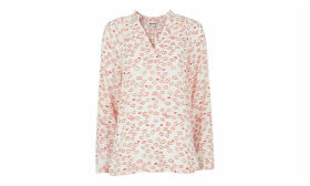 Catalina Lips Print Blouse