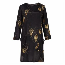 Louise Coleman - Padlock LS Dress
