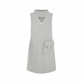 CocooVe - Pearl Wrap Dress with Kimono Sleeve in Red