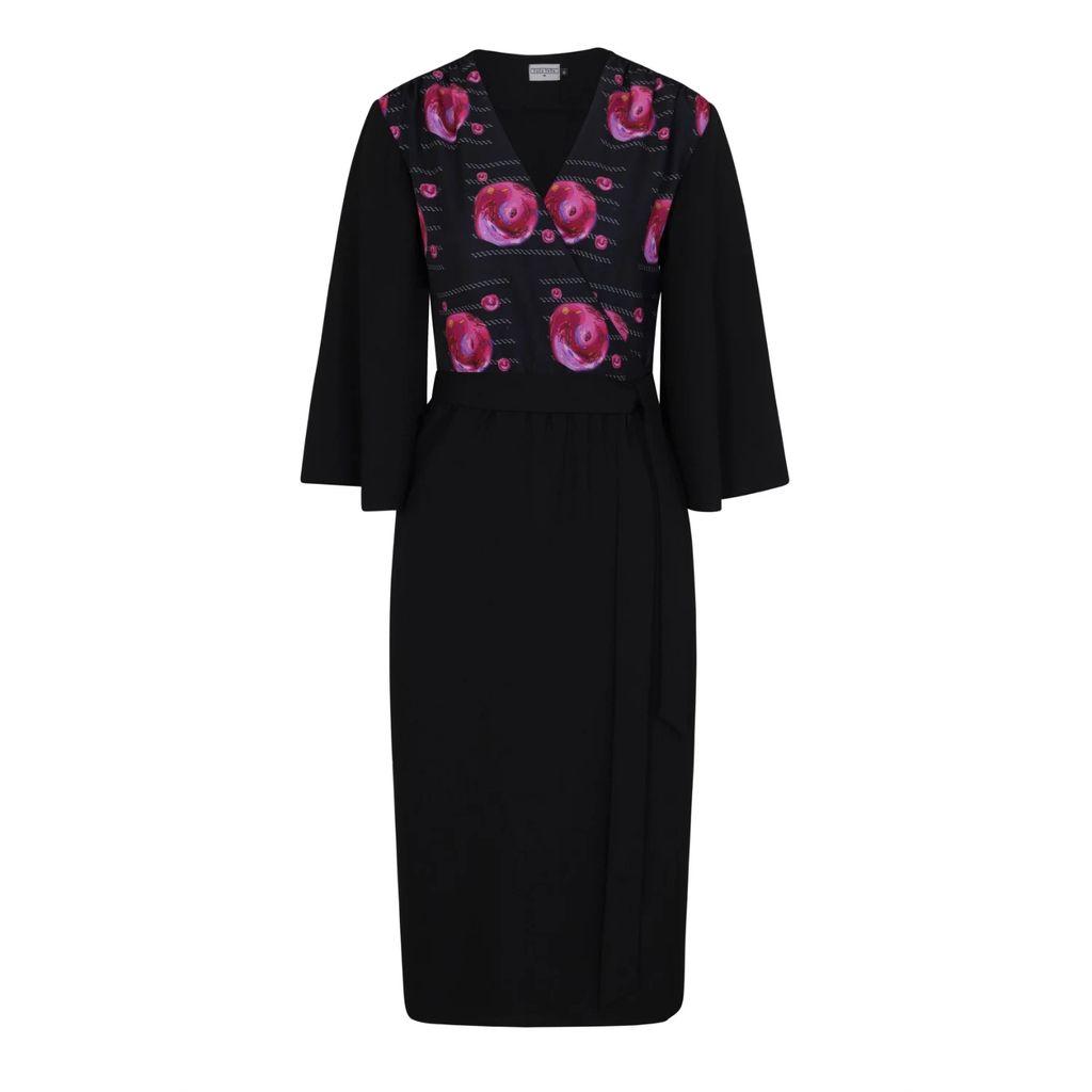 Vols & Original - Leather & Alpaca Panelled Bomber Jacket