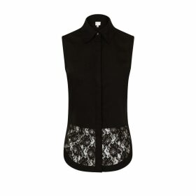 Sophie Cameron Davies - Black Cotton Top