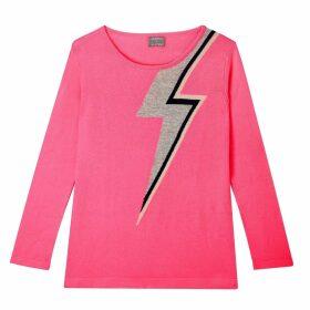 Orwell + Austen Cashmere - Bowie Sweater In Pink