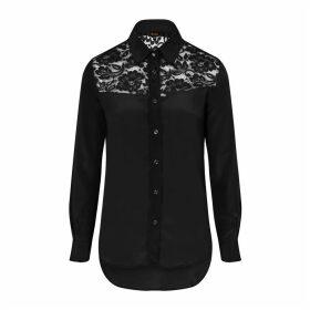 Sophie Cameron Davies - Black Classic Silk Shirt