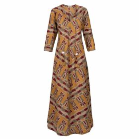 Cove - Eva Cashmere Jumper Pink & Orange