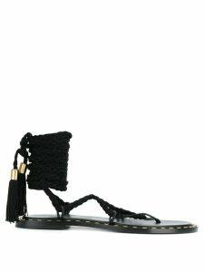 Philosophy Di Lorenzo Serafini ankle tied sandals - Black