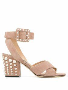 Sergio Rossi Elettra sandals - NEUTRALS