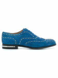 Church's embellished Burwood lace-up shoes - Blue