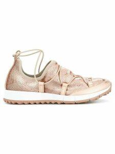 Jimmy Choo Andrea sneakers - Metallic