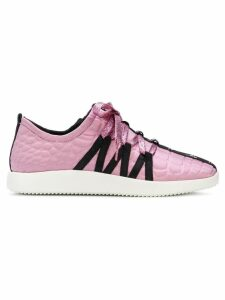 Giuseppe Zanotti textured sneakers - Pink