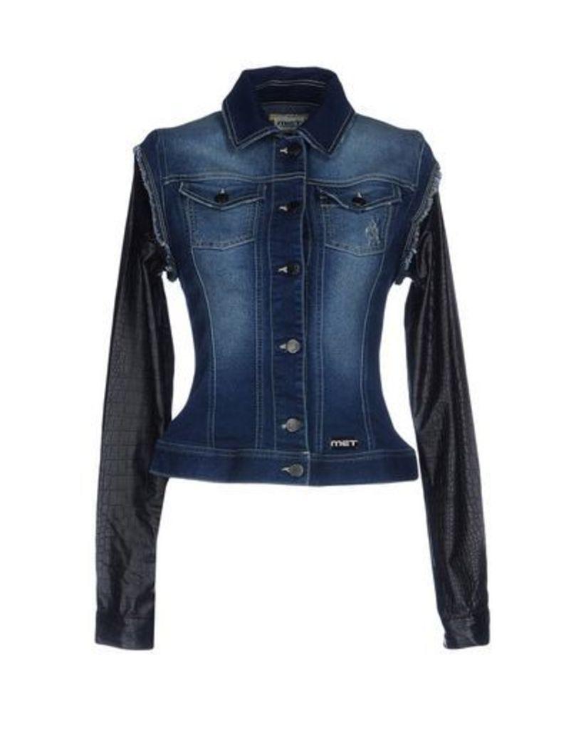 MET DENIM Denim outerwear Women on YOOX.COM