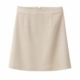 Short Back Zip Skirt