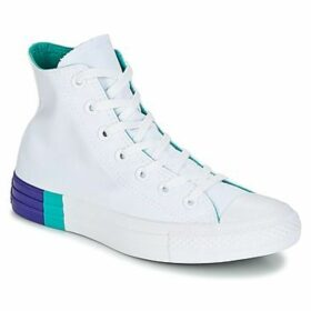 Converse  Chuck Taylor All Star Hi Tri-Block Midsole  women's Shoes (High-top Trainers) in White