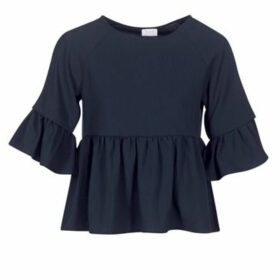 Vila  VIHILMA  women's Blouse in Blue