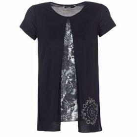 Desigual  NUTILAD  women's T shirt in Black