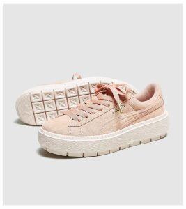 PUMA Suede Platform Trace Women's, Pink