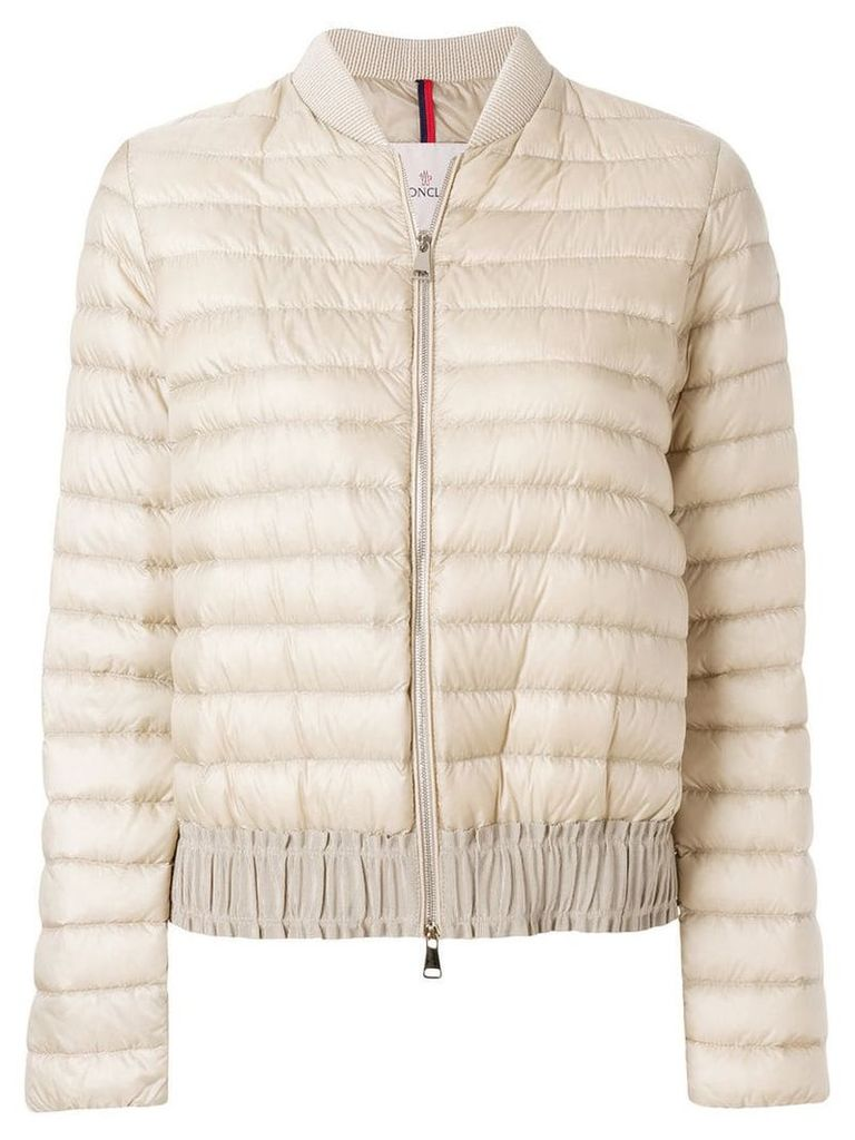 Moncler casual puffer jacket - Nude & Neutrals