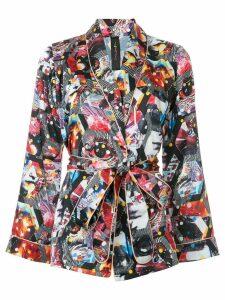 Romance Was Born Cosmic Portal robe - Multicolour