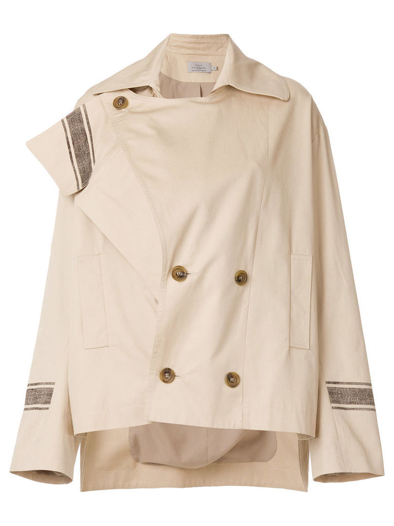 Preen By Thornton Bregazzi Yolanda jacket - Nude & Neutrals