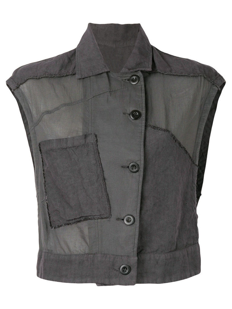Lost & Found Rooms sleeveless jacket - Grey