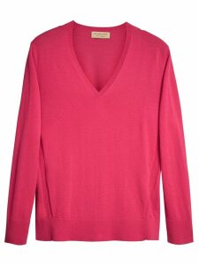 Burberry V-neck sweater - PINK