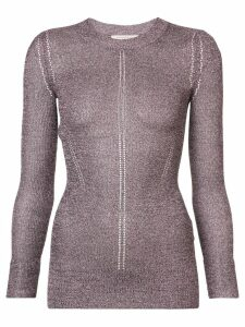 Christopher Kane DNA Metallic Jumper