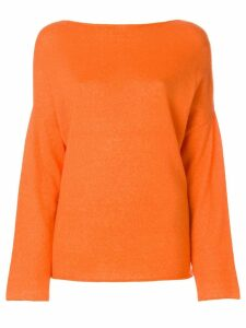 Liska boat neck jumper - Yellow
