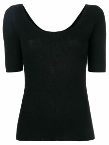Cashmere In Love cashmere Carol tee - Black