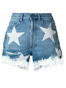 Faith Connexion star print shorts - Blue