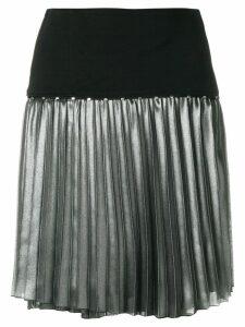 Versace Jeans Couture metallic pleat skirt - Multicolour