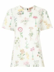 Nº21 floral print blouse - White