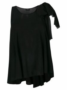 Giambattista Valli shoulder tie blouse - Black