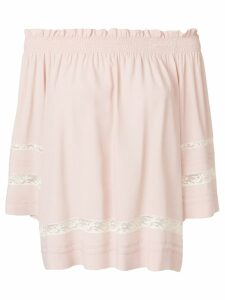 P.A.R.O.S.H. off shoulder blouse - Pink