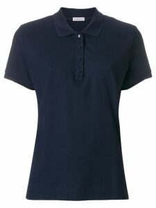 Moncler slim fit polo shirt - Blue