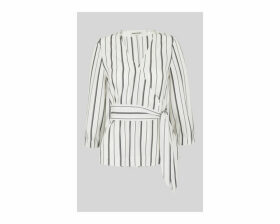 Lianne Stripe Wrap Top