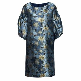 NY CHARISMA - Navy Ribbed Neck Trim High-Low Pullover