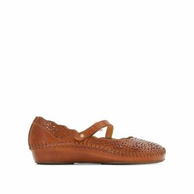P. Vallarta 655 Leather Sandals