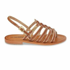 Herbier Leather Toe Post Sandals