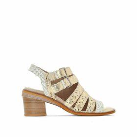 Genna Leather Sandals
