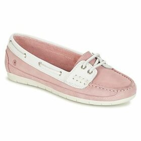 Casual Attitude  IHUHAE  women's Boat Shoes in Pink