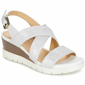 Geox  MARYKARMEN P.B  women's Sandals in White